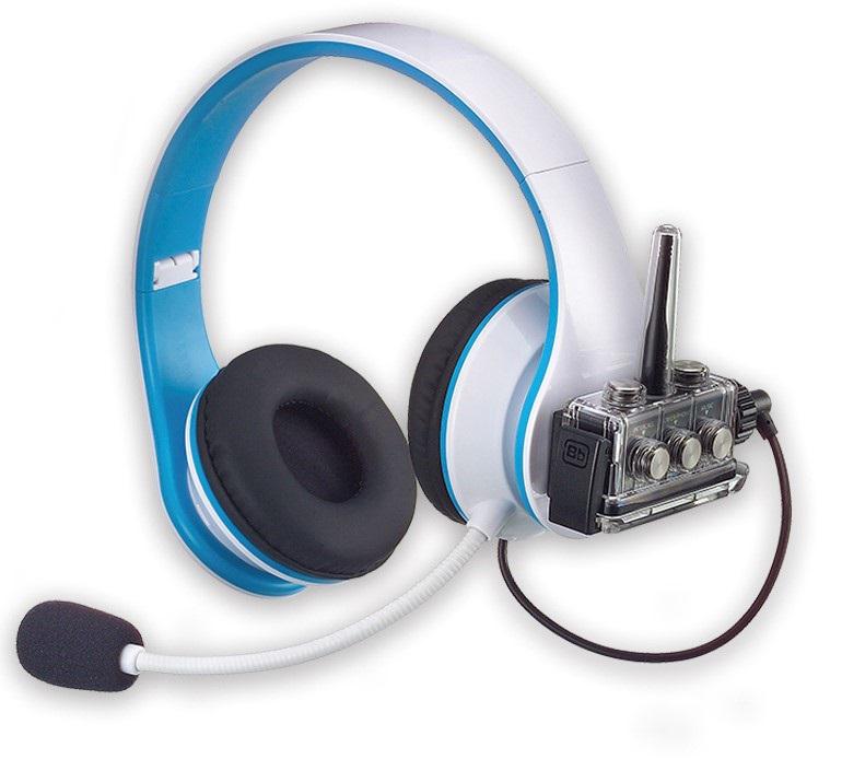 Excellent sound quality when using BbTALKIN's non-waterproof headphones