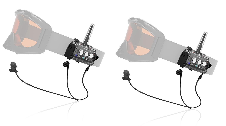 Sleek weather resistant communication set for two by BbTALKIN