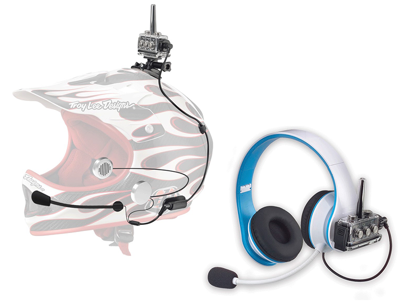Waterproof Full Face Helmet to Non-Waterproof Headphones