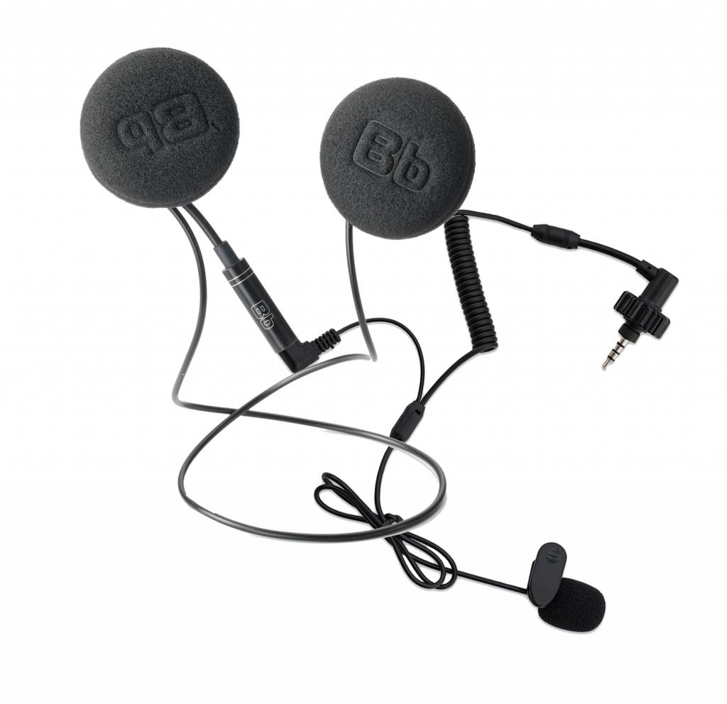 BbTALKIN Premium Snow Helmet Speakers with Microphone