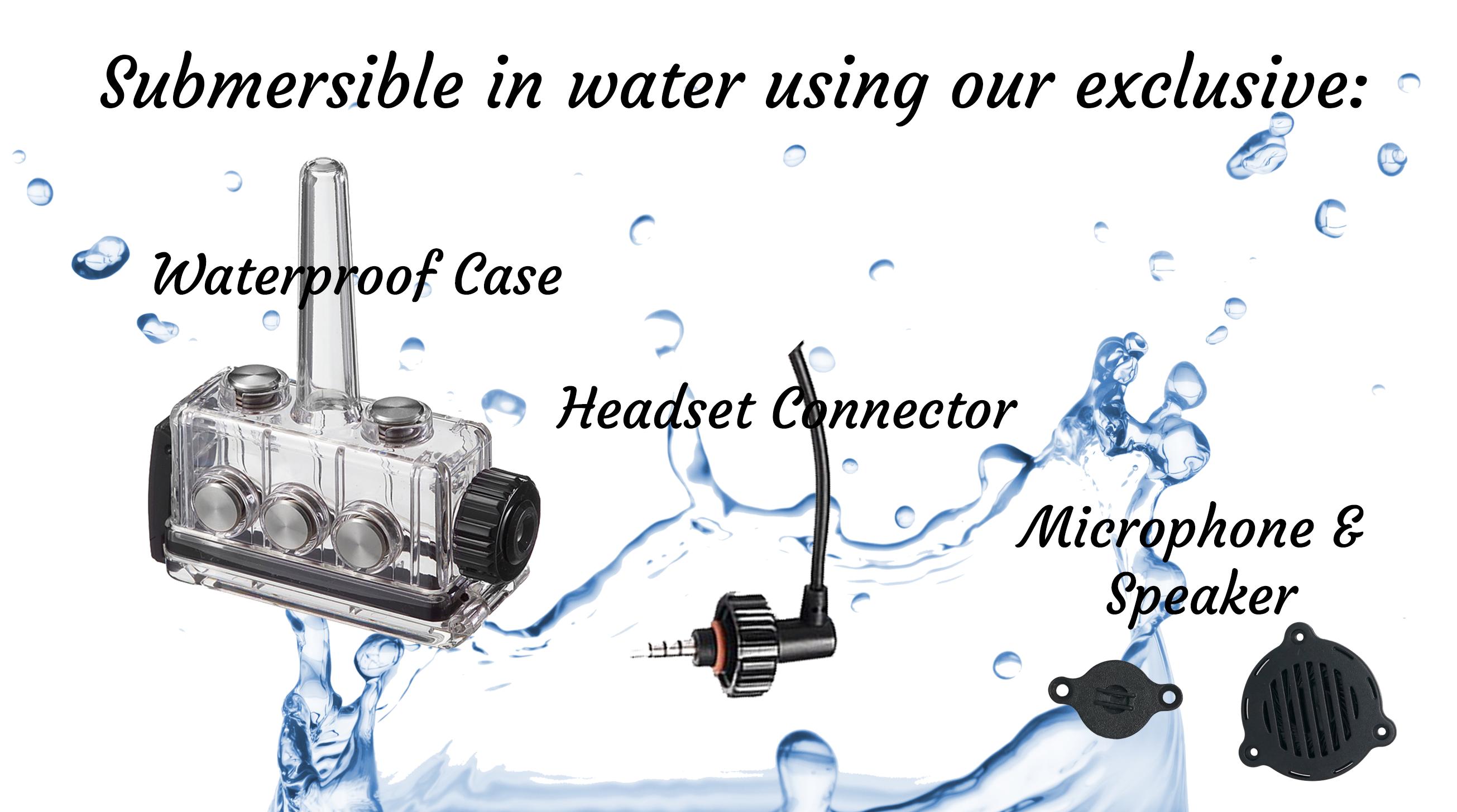 What makes BbTALKIN products waterproof